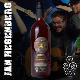 HEGENBERG Magic-Mead Jubilee edition 0,75l 7,5%vol